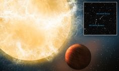Astronomers find 'planet engulfing' star  350 light years from Earth #DailyMail