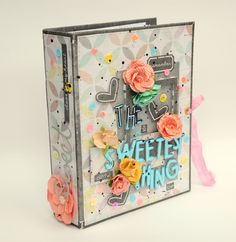 "Mini album ""The sweetest thing"" by Anna Komenda"