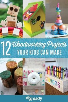 Woodworking Projects for Kids | DIY Ready's Ingeniously Easy DIY Projects To Entertain Kids