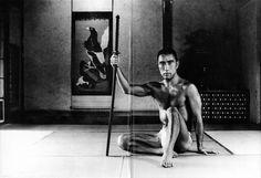 Yukio Mishima (三島由紀夫) - photographed by Tamotsu Yato (矢頭保) ~