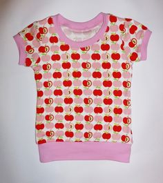 "BIO-Retroshirt "" An apple a day "", auch türkis!!!!"