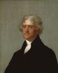 Thomas Jefferson  Gilbert Stuart