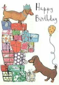 Doxie Birthday - Happy Birthday Funny - Funny Birthday meme - - Doxie Birthday The post Doxie Birthday appeared first on Gag Dad. Happy Birthday Dachshund, Happy Birthday Pictures, Happy Birthday Funny, Happy Birthday Quotes, Happy Birthday Greetings, Birthday Messages, Dog Birthday, Humor Birthday, Niece Birthday Wishes