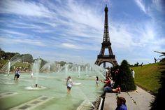 Canicule: 39.7°C à Paris, le record d'août 2003 battu