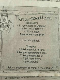 Tuna Recipes, Quiche Recipes, Cooking Recipes, Casserole Recipes, Seafood Recipes, Cake Recipes, South African Dishes, South African Recipes, Quiches