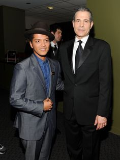 Singer Bruno Mars and Time Managing Editor, Richard Stengel attend the TIME 100 Gala, TIME'S 100 Most Influential People In The World at Frederick P. Rose Hall, Jazz at Lincoln Center on April 26, 2011 in New York City.