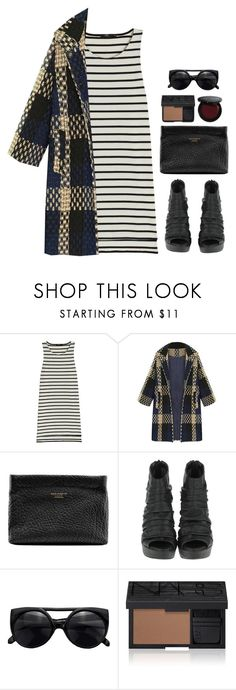 """""""Remaining Winter Vibes"""" by grapecar ❤ liked on Polyvore featuring Markus Lupfer, Acne Studios, NARS Cosmetics, Bobbi Brown Cosmetics, polyvoreeditorial, polyvorecontest, winterstyle and plaidcoats"""