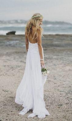 Boho lace wedding dress boho bride beach bride Grace loves lace shop Hollie dress www.graceloveslace.com