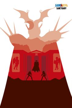 Saint Seiya Sanctuary/Santuario Fanart by Jesús Pérez Campos #saintseiya #caballerosdelzodiaco #arles #pope #patriarca #geminis #saga #casa #docecasas #shun #andromeda #hyoga #cygnus #cisne #sanctuary #santuario