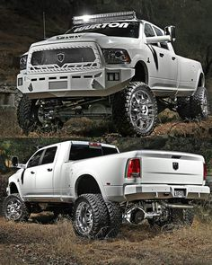 Lifted truck More More