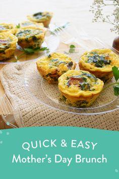Easy Casserole Recipes, Egg Recipes, Brunch Recipes, Appetizer Recipes, Great Recipes, Appetizers, Cooking Recipes, Breakfast Muffins, Breakfast Items
