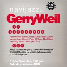 "GERRY WEIL presenta ""NAVIJAZZ 2015"" http://crestametalica.com/events/gerry-weil-presenta-navijazz-2015/ vía @crestametalica"