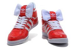 buy online a82bc 55c45 Mujer Jeremy Scott Adidas Top Ten HI Sleek Bow W Naranja kRPRm 1 Adidas Zx,
