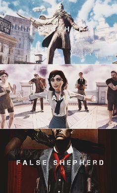Bioshock Infinite: Without the sinner, what need is there for the redeemer? Without sin what grace has forgiveness?
