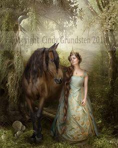 The Princess by Dezzan.deviantart... on @deviantART