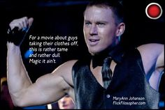 Magic Mike: New on DVD in the UK this week (also available in the US and Canada).