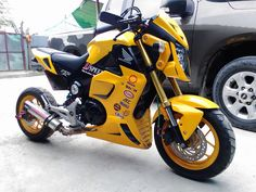 Msx Custom Motorcycles, Cars And Motorcycles, Honda Grom, Pit Bike, Small Engine, Street Bikes, Sport Bikes, Scooters, Motorbikes