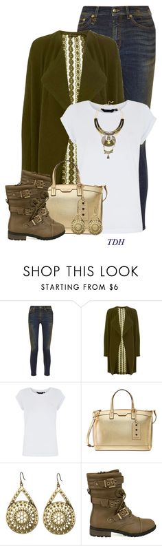 """""""Taupe Combat Boots"""" by talvadh ❤ liked on Polyvore featuring R13, Miss Selfridge, Henri Bendel, Lucky Brand and Satellite"""