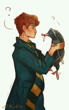 Newt Scamander and the Niffler moments -