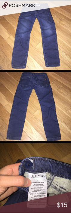 Girl's Joe's Jeans Awesome shape. No holes. Open to offers. Not stretched out. Faux pockets. Joe's Jeans Bottoms Jeans