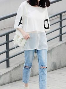 We collected perfect examples of what to wear under sheer blouse, how to wear see through lace tops, how to wear a sheer blouse with jeans, what to wear under a sheer blouse for work,
