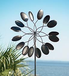Large Kinetic Spoon Leaf Spinner