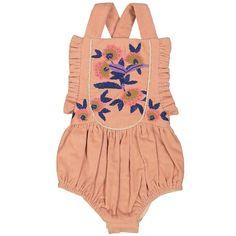 Mina Overalls Nude  #byronbay #tinypeopleshop