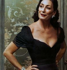 "Angelica Huston: ""Where there is age there is evolution, where there is life there is growth."""