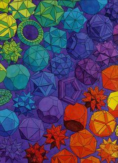 Rainbow Polyhedra.