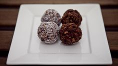 This refined sugar free protein balls is great post work out!
