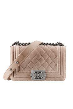 Chanel velvet Boy bag fall 2013 _