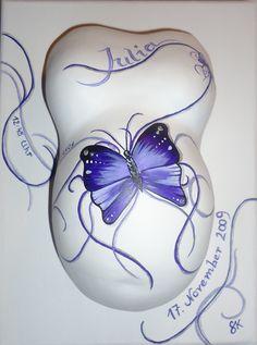 Baby belly designed by Sigrid Kiesenhofer