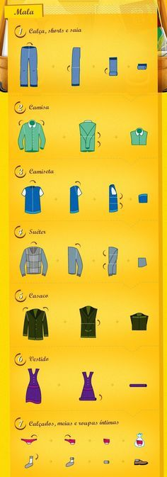 16 dicas para arrumar suas malas como um profissional