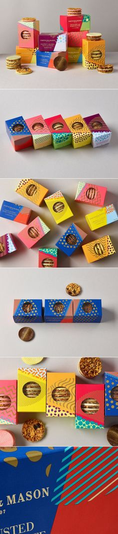 Fortnum & Mason's Florentines Get a Bold New Look — The Dieline | Packaging & Branding Design & Innovation News