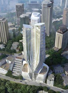 TEHRAN | Zaha Hadid's Hotel Fereshteh | 100m+ | 46 fl | Prep - SkyscraperCity