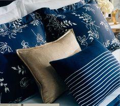 Ralph Lauren French Nautical Blue & White