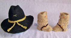 Baby Cavalry stetson hat and military tanker by babypropsbyconnie