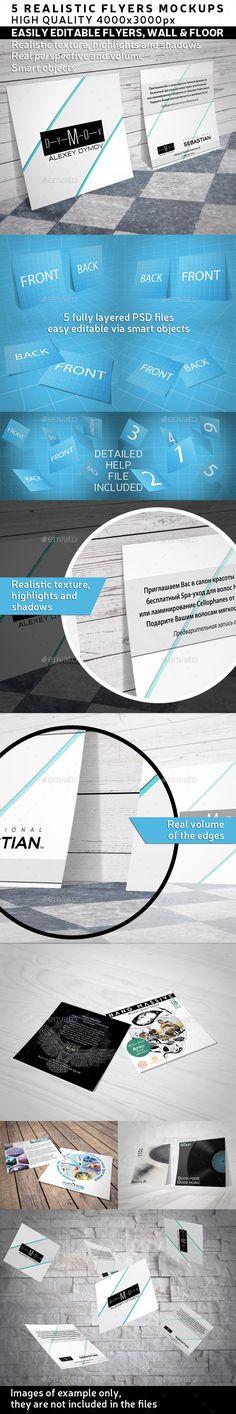 Square Flyer / Leaflets Mock-Up #design Download: http://graphicriver.net/item/square-flyer-leaflets-mockup/12341588?ref=ksioks