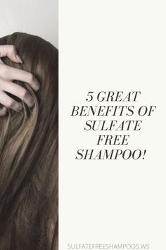 There are many sulfate free shampoo benefits.This article shares 5 great reasons why you should switch to an SLS free shampoo today. Sls Free Shampoo, Sulfate Free Shampoo, Dry Shampoo, Organic Hair Care, Natural Hair Care Tips, Homemade Shampoo Recipes, Hair Care Brands, Hair Again, Brittle Hair