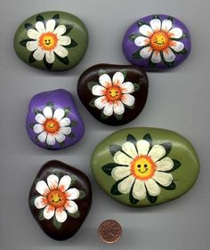 rock painting | Rock Paintings,Lee Wismer,DecoRockArt,decorative painting,yard and ...