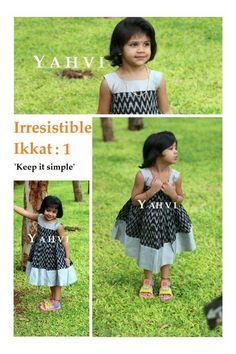 Girls Frock Design, Baby Dress Design, Kids Frocks Design, Baby Frocks Designs, Baby Girl Frocks, Frocks For Girls, Little Girl Dresses, Kids Dress Wear, Kids Gown