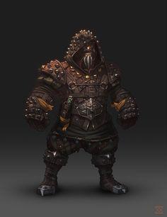 Dwarf Leather Armor