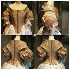And YESSS! Finally after 2 months the 1660s bodice is ready!