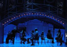 Amelie. Berkeley Repertory Theater. Scenic design by David Zinn. 2015