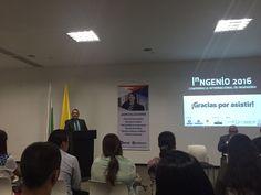 Luis Fernando Vargas nuestro Vicerrector Académico es moderador en el foro Nacional de Ingeniería