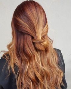 Dark red hair with bleach blonde highlights. dark red hair with bleach blonde highlights Red Hair With Blonde Highlights, Red Blonde Hair, Short Red Hair, Dark Red Hair, Brown Ombre Hair, Ombre Hair Color, Natural Highlights, Red Hair With Balayage, Ombre Ginger Hair