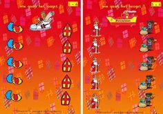 Miranda's lesmaterialen Sinterklaasspel met dobbelsteen groep 1/2 (hoogst/laagst)