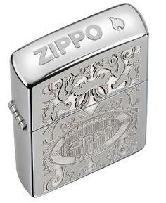 Zippo Lighter Classic,zippo Crown Stamp, High Polish Chrome from Picsity.com