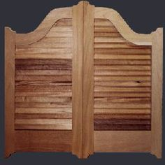 Google Image Result for ://.eureka4you.com/home/ & Saloon doors are a pair of lightweight swing doors often found in ... Pezcame.Com