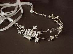 Hey, I found this really awesome Etsy listing at https://www.etsy.com/listing/254805872/floral-hair-vine-wedding-headband-bridal